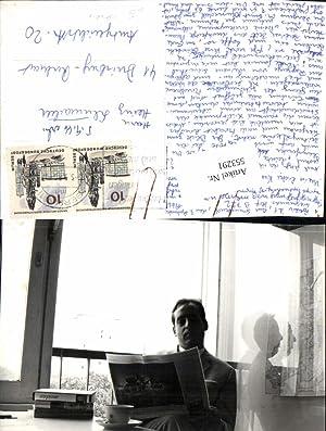 553291,Foto AK Berlin Tiergarten Mitte Lesen liest