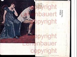 519638,Künstler AK Kardos Fliterwochen Liebe Paar Frau