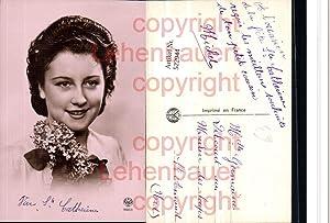522944,Foto-AK Art Deco Frau Portrait pub Noyer