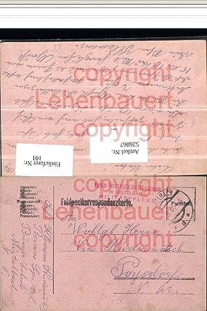 526067,K.k. Feldpost Mistelbach Vereins Spital Rotes Kreuz