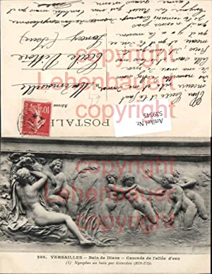 539545,Skulptur Statue Erotik Akt Versailles bain de