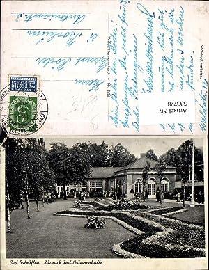 533728,Bad Salzuflen Kurpark Brunnenhalle LK Lippe Detmold