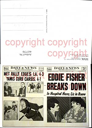 465770,Reklame Repro Daily News Andy Warhol Zeitung