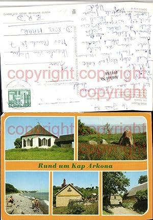 491184,Insel Rügen Vitt Kapelle Kap Arkona Mehrbildkarte