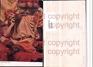 492199,Künstler AK Jan Matejko Mann Narr