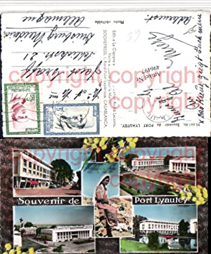 496497,Morocco Kenitra Port Lyautey Gebäude Mehrbildkarte