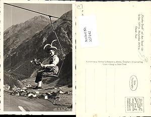 557142,Sölden Sessellift List Tracht Tiroler Tirol Dirndl