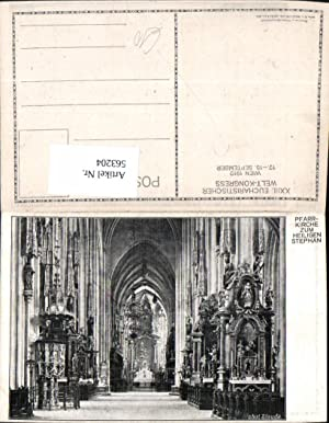 563204,Wien Pfarrkirche zum hl. Stephan Kirche Dom