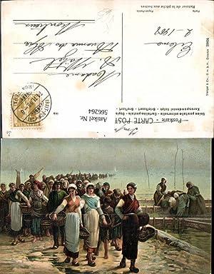 566264,Künstler Ak Feyen-Perrin Fischerei Fischen Retour de