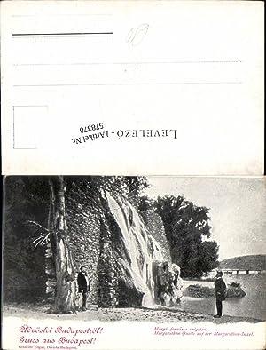 578370,Budapest Margarethen Quelle Insel 1900
