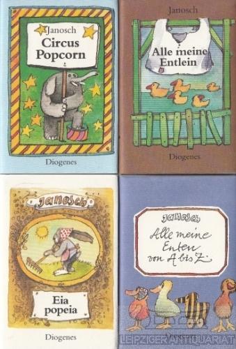 Die Enten-Bibliothek. Alle meine Entlein. Circus Popcorn.: Eckert, Horst (Janosch).