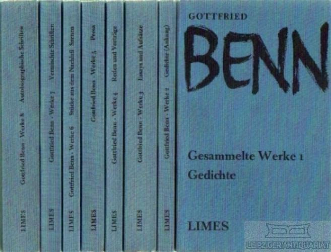 Gesammelte Werke. 8 Bände.: Benn, Gottfried.