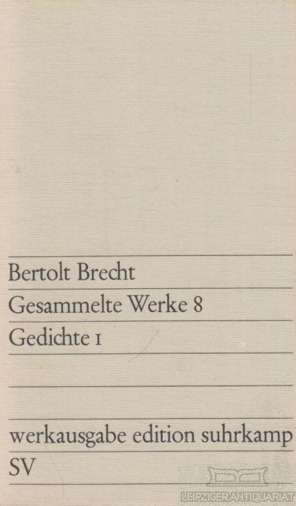 Brecht gedichte augsburg