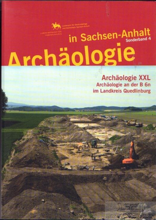 Archäologie XXL. Archäologie an der B 6n: Meller, Harald (Hrsg.).