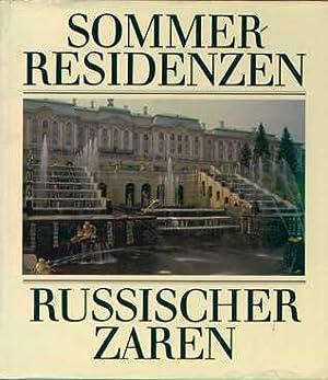 Sommerresidenzen russischer Zaren.: Hallmann, Gerhard.