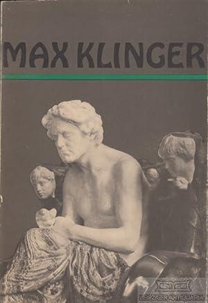 Max Klinger 1857 - 1920.: Winkler, Gerhard (Herausg.).