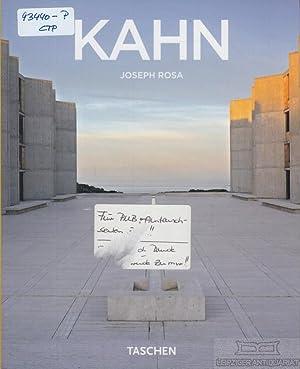 Louis I. Kahn. 1901 - 1974. Espaco: Rosa, Joseph (Text