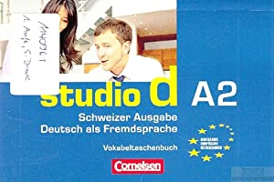 Studio d A2. Schweizer Ausgabe - Deutsch: Cornelsen (Hrsg.).