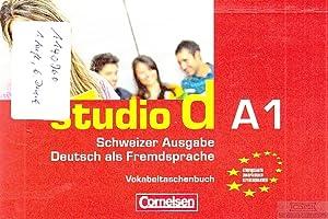 Studio d A1. Schweizer Ausgabe - Deutsch: Cornelsen (Hrsg.).