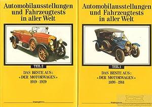 Automobilausstellungen und Fahrzeugtests in aller Welt. Das Beste ...