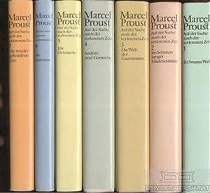 Auf der Suche nach der verlorenen Zeit.: Proust, Marcel.