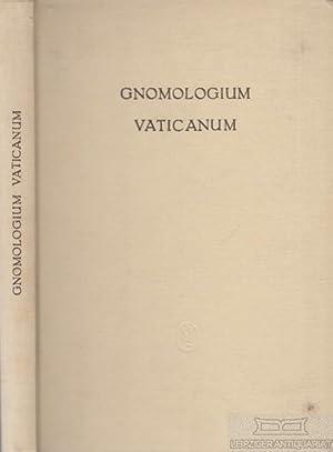Gnomologium Vaticanum. E Codice Vaticano Graeco 743.: Sternbach, Leo.