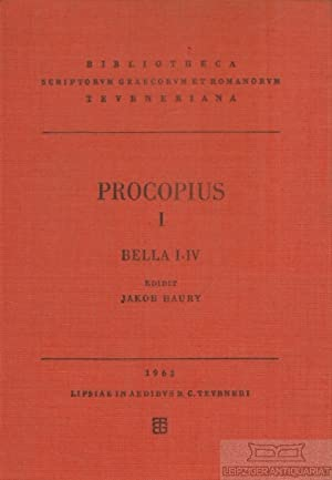 Prokopios I. Procopii Caesariensis Opera Omnia. Bella: Haury, Jakob (Hrsg.).