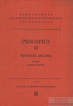 Prokopios III. Procopii Caesariensis Opera Omnia. Historia: Haury, Jakob (Hrsg.).