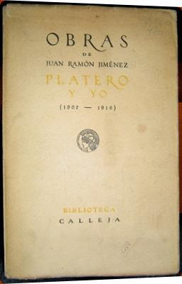 Platero y Yo (1907-1916): Juan Ramón Jiménez