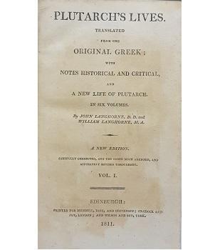 Plutarch's Lives: John Langhorne and