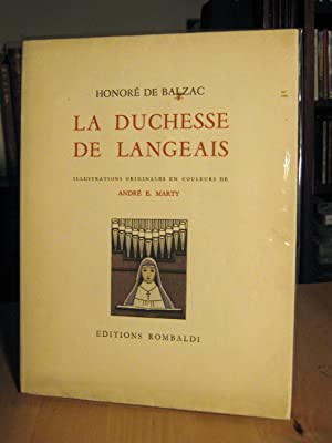 La Duchesse de Langeais (Illustrations Marty)