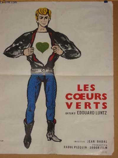 AFFICHE DE CINEMA - LES COEURS VERTS: EDOUARD LUNTZ