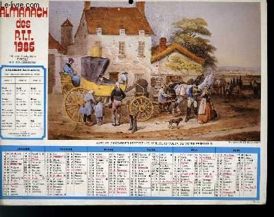 Calendrier Almanach Des Ptt Le Relais