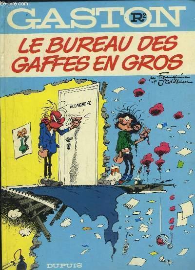 GASTON R2. LE BUREAU DES GAFFES EN GROS.: FRANQUIN ET JIDEHEU.