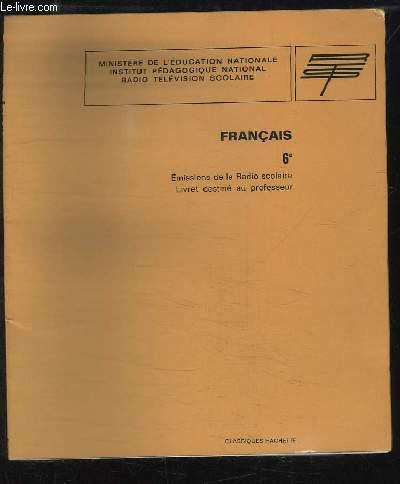 Francais Classe De 6e Emission De La Radio