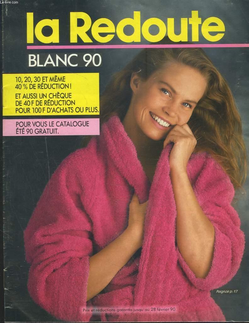 catalogue la redoute, blanc 1990 par collectif: la redoute