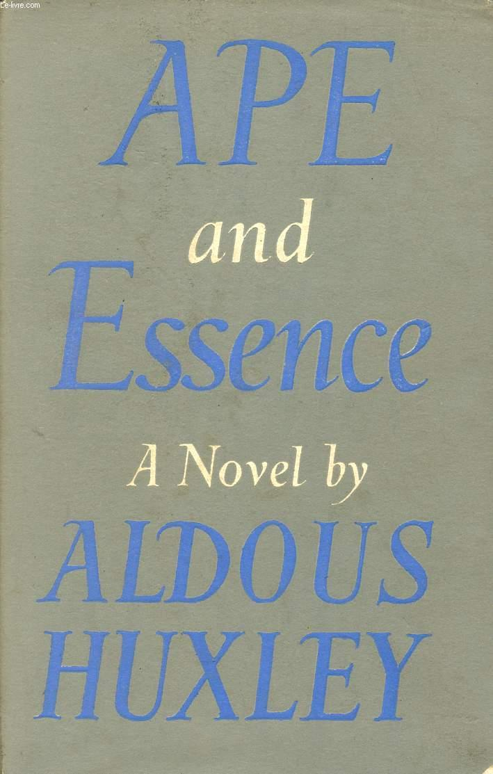 Ape And Essence By Huxley Aldous Chatto Amp Windus border=