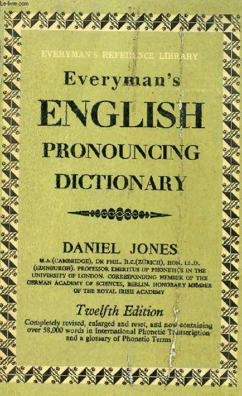 Image result for jones's pronouncing dictionary