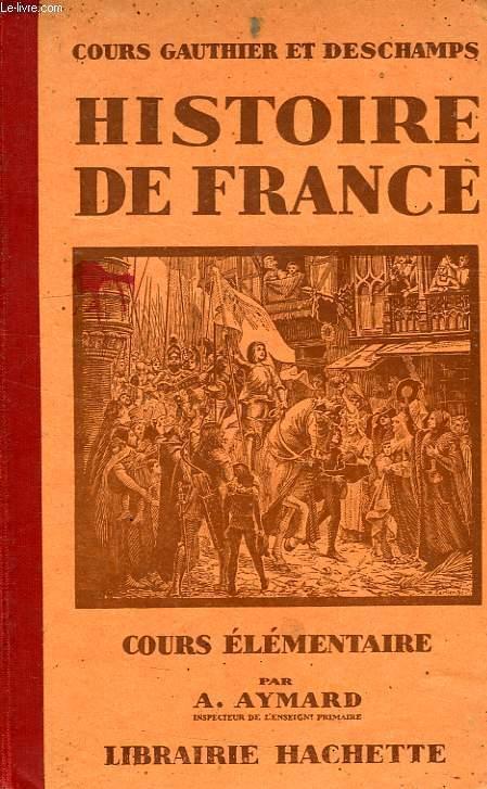 Histoire De France Cours Elementaire
