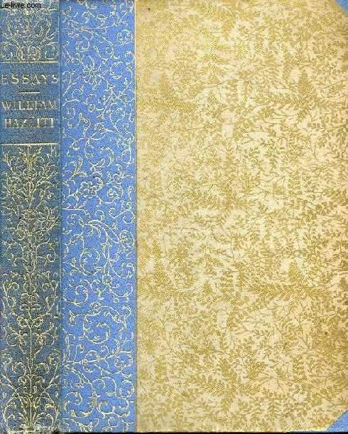 Essays written by william hazlitt