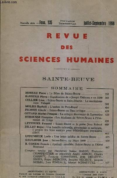 Revue des sciences humaines nouvelle serie fascicule for Revue sciences humaines