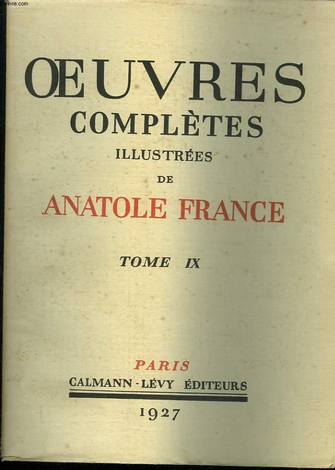 le jardin d epicure anatole france oeuvres completes illustrees de anatole france tome 9