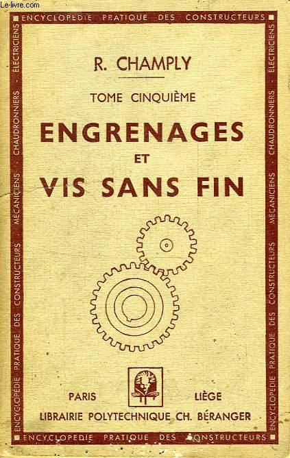ENGRENAGES ET VIS SANS FIN CHAMPLY R. Fair Softcover