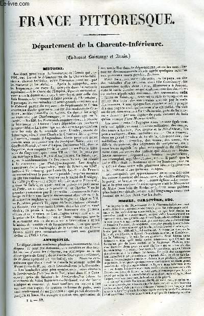 France pittoresque tome 1 livraison n 32 departement - Livraison de livre ...