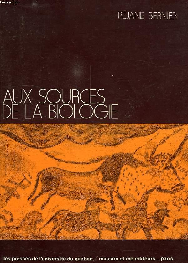 9780777000656 - BERNIER REJANE: AUX SOURCES DE LA BIOLOGIE, TOME I, LES 20 PREMIERS SIECLES, LA CLASSIFICATION - Livre
