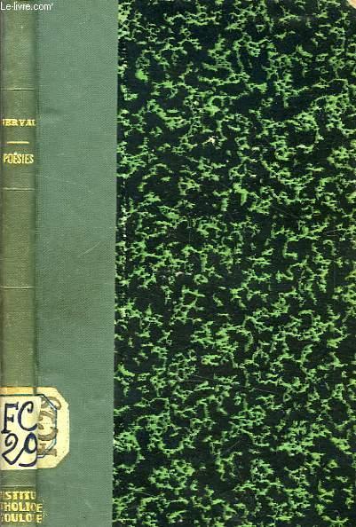 POESIES NERVAL G. DE [Near Fine] [Hardcover] (bi_1402611437) photo