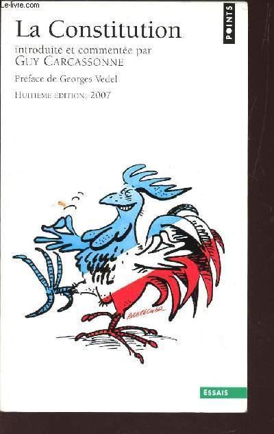 LA CONSTITUTION / ESSAIS / 8e EDITION. - CARCASSONNE GUY