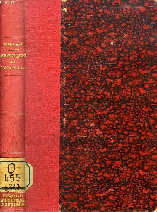 CHRONIQUES ET NOUVELLES STENDHAL Near Fine Hardcover