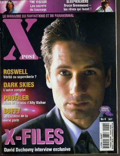 Xpose N 4 Mai 1998 X Files David