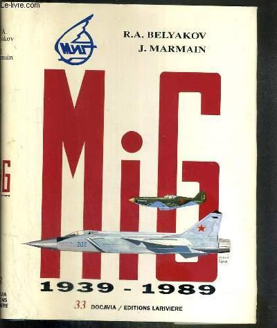 Mig 1939 1989 Collection Docavia Volume 33 By Belyakov R A